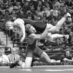 Kyle wrestling at Cornell