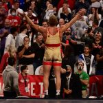 Kyle Dake after qualifying the the Tokyo Olympics